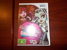 Wii Monster High Ghoul Spirit PAL game