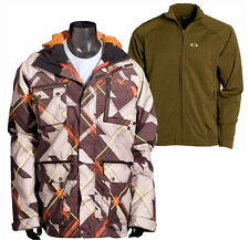 NEW Oakley Mens BATTALION 2.0 JACKET 3-in-1 Size L $280 ski snowboard