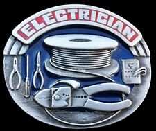 ELECTRICIAN WORK TOOLS ELECTRICAL UNISEX GIFT IDEA EQUIPMENT BELT BUCKLES
