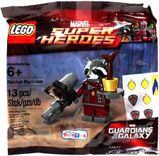 LEGO Rocket Raccoon Marvel Superheroes Guardians of the Galaxy GOTC Poly Bag TRU
