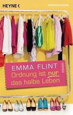 Ordnung ist nur das halbe Leben  Emma Flint Taschenbuch ++Ungelesen++