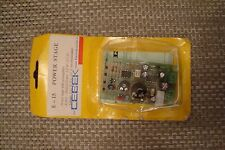 Two CEBEK  Kit No: E-15 1.8W Mono Amplifier + Preamp module