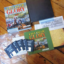 Fields of Glory Classic Vintage PC Strategy Game Big Box Floppy Disc Complete