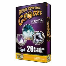 Ultimate Geode Kit - Crack Open 20 Amazing Rocks And Find Crystals!