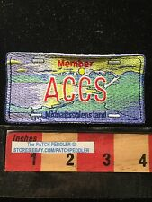 MIDNATTSOLENSLAND NORWAY Patch - Member ACCS LICENSE PLATE SNOW MOUNTAIN L62K6