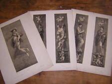 1850.3 lithographies de Boilly d'après Prud'hon
