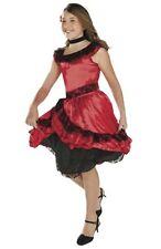 SENORITA COSTUME Girls Small 4-6 Child Spanish Dancer Dress Latino Mexican NEW