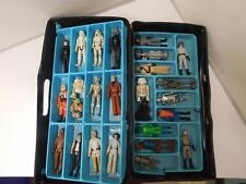 Vintage Star Wars 26 Action Figures Lot W/ Caring Case. 1977 To 1980s Kenner 227