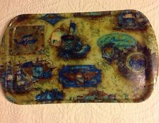 Vintage Early American Plastic Serving Tray Rexliite by Eubanks
