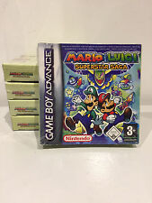 Mario & Luigi: Superstar Saga Sealed GBA Nintendo Gameboy Advance NEW