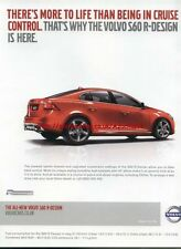 Volvo S60 R-Design Car 2011 Magazine Advert #3517