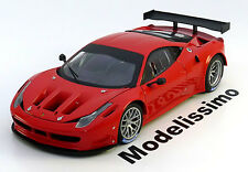1:18 Hot Wheels Elite Ferrari 458 Italia GT2 Plain Body Version 2011