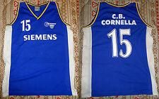 Club Basquet Cornellà (Spain, Catalunya) basket jersey, canotta, size XL