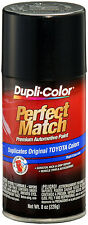 Dupli-Color BTY1622 Black Sand Pearl Toyota Auto Paint 8oz FREE SHIPPING