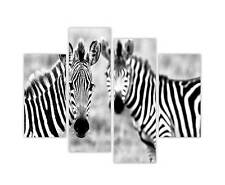 "LARGE CANVAS PRINTS AFRICAN ZEBRA WALL WILDLIFE ART 35""90CM XXL PICTURES PHOTOS"