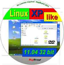 XPLike 11.04 A WIN XP parecido Linux Operativo/S,disponible as 32 bit Live DVD
