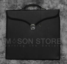 Masonic Apron + Chain Collar Case (Black)