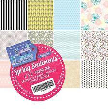 """Sweet Dixie Spring Sentiments 6x6"""" Paper Pad"""