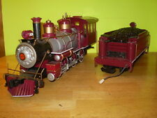 MODEL TRAINS/G SCALE/BACHMANN/4-6-0 STEAM LOCO & TENDER/A. T. & S. F.