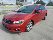 2012 Honda Civic Si Sedan 4-Door