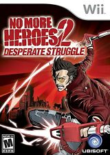 No More Heroes 2: Desperate Struggle - Nintendo  Wii Game