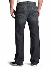 Men's Seven 7 For All Mankind $189 Relaxed Jeans in Dark Distressed Montana 31