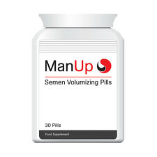 MAN UP SEMEN VOLUMIZING PILL IMPROVE CUM VOLUME FULL LOAD EACH & EVERY TIME