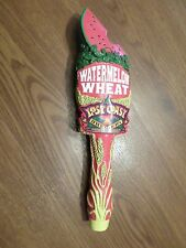 """Excellent Lost Coast Brewery Watermelon Wheat 10"""" Beer Keg Tap Handle Marker"""