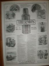 A E Gutmann & Co Thermos Flask advert UK large 1907