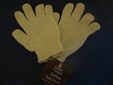 Soothing Bath Gloves. Exfoliate As You Wash.. New.