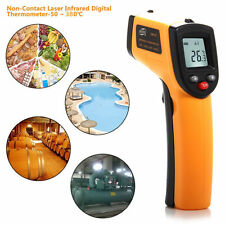 Infrared Digital Non-Contact Surface Measure Temperature Thermometer GM320 USA