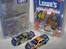 2003 HO Jimmie Johnson RARE Sophomore (2car Lot) #48 Lowes & Power of Pride 1:64