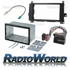 MERCEDES SPRINTER double din fascia PANEL Adaptateur plaque cage Kit de montage ISO
