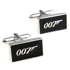 007 James Bond Cufflinks LUXURY GIFT BOX Novelty  Men's Funny Cuff-links UK