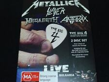 Metallica Slayer Megadeth Anthrax The Big 4 Live 2dvd