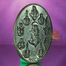 Thai Amulet 10 Lersi Pendant Rien BoromkruPuLersi Nawa Coin GuSanPaTan BE2556
