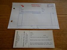 ORIGINAL HENRY J DOOR PRIZE TICKET plus KAISER FRAZER ORDER FORM / BROCHURE