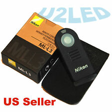 Nikon ML-L3 MLL3 Wireless Remote Control D750 D5000 D3200 D80 D7100 Coolpix A V2