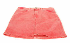 Wildfox Women's New Katie Denim Mini Skirt Zip Fly In Vintage Lifguard BCF62