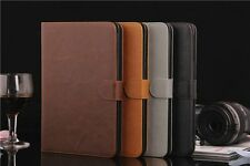 Apple iPad Air / iPad 5 Tablet Schutz Hülle Leder Back Case Etui Cover Tasche