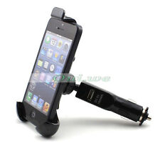 Car Mount Holder with Charger Power Adapter for iPhone 4 5 Galaxy Lumia 900 920