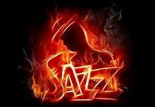 Art Poster Red Hot Jazz  Print