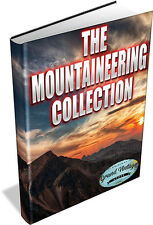 130 VINTAGE BOOKS ON MOUNTAINEERING & ROCK CLIMBING - Mountains Alps - DVD