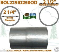 "2 1/4"" ID to 2 1/2"" OD Universal Exhaust Pipe to Component Adapter Reducer"