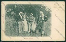 Palermo Costumi Siciliani cartolina QQ0821
