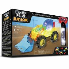 Laser Pegs Juniors- 3 In 1 Construction Building Kit