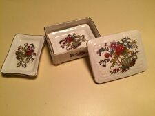 "PARAGON✿English Bone China ""Tree of Kashmir"" TRINKET BOX✿Lovely Floral Design!"