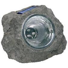 LAMPE SPOT CAILLOU SOLAIRE A LED ETANCHE POUR JARDIN