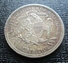 1877 USA Seated Liberty Silver Quarter Dollar