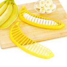 2x Banana Slicer Cutter Fruit Salad Cutter Home Kitchen Tool Fast Free shipping